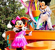 Magic Kingdom: Mickey and Minnie Mouse by bobbi7275