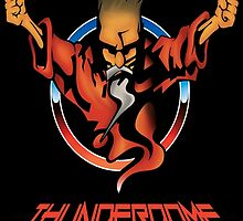 Thunderdome Coloured Logo by KevinStefanoni