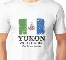 Yukon Flag - Vintage Look Unisex T-Shirt