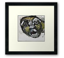 Face, Bernard Lacoque-30 Framed Print