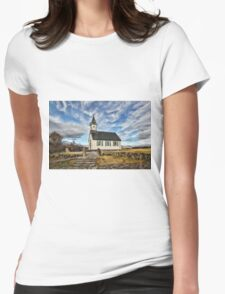 Where the Worlds Meet Womens Fitted T-Shirt