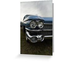Cadillac Eldorado Seville Greeting Card