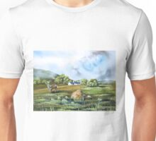 Blackrock cottage Scottish Highlands painting  Unisex T-Shirt