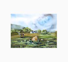Blackrock cottage Scottish Highlands painting  Unisex T-Shirt