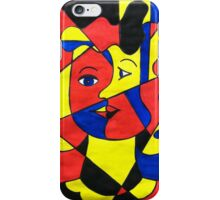Elementary Cubism iPhone Case/Skin