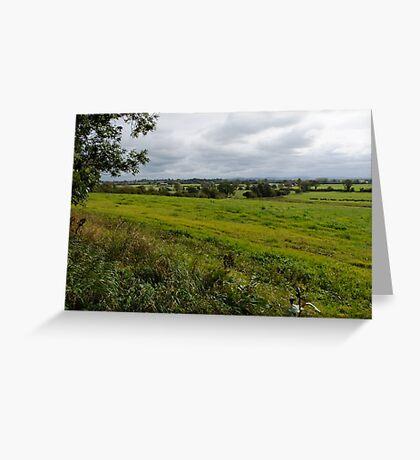 CHESHIRE Plains England Greeting Card