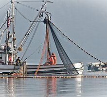 New Oregon Fishing VIIII Hauling the Net by Bryan Peterson