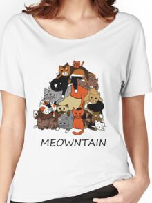 Meowntain Women's Relaxed Fit T-Shirt