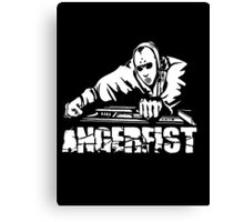 Angerfist With Console Canvas Print
