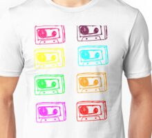 Coloured Tapes Unisex T-Shirt