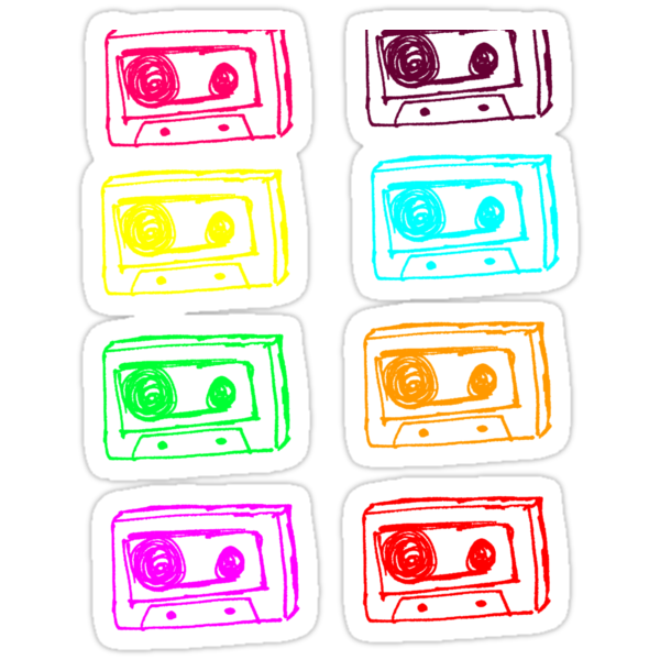 Coloured Tapes by Lizzieee C