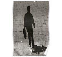 Flat Cap Shadow - Lindfield Poster