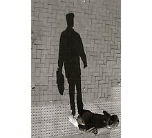 Flat Cap Shadow - Lindfield Photographic Print