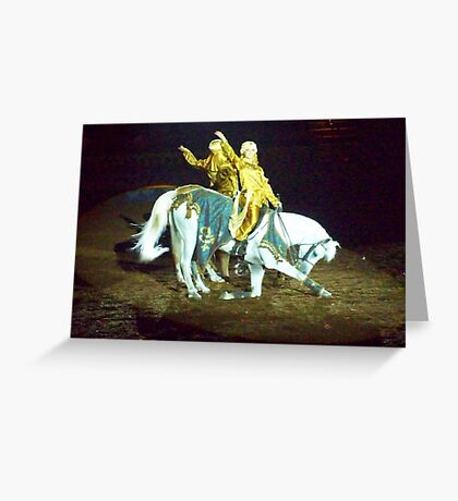 Bowing Greeting Card