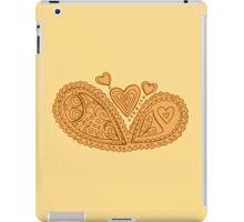 Auburn heart mandala iPad Case/Skin