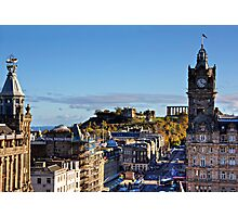 All the way to Calton Hill Photographic Print