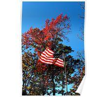 Autumn Americana Poster