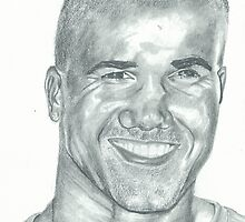 Portrait Shemar Moore by ArtLuver