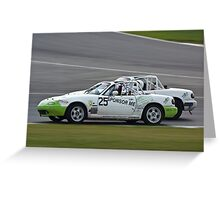 Mazda MX5 Ian Cameron Greeting Card