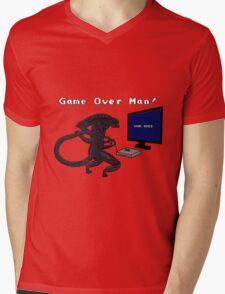Game Over Man! uhh... xenomorph! Mens V-Neck T-Shirt