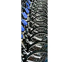 Bikes For Rent In San Francisco, CA. Photographic Print