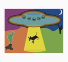 Alien Abduction Kids Tee