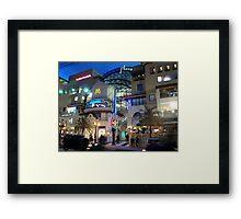 Atlantis Plaza Framed Print
