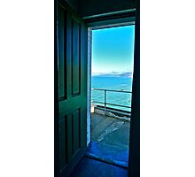 View from Point Bonita Lighthouse, Marin Headlands, Northern CA Photographic Print