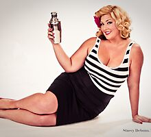 Vintage Pin Up II by Stacey Debono