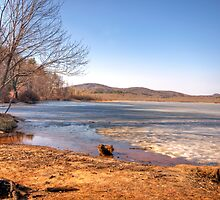 The Lake In Winter by Karen J. Moulton