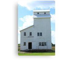 Country Elevator on the Prairies Canvas Print
