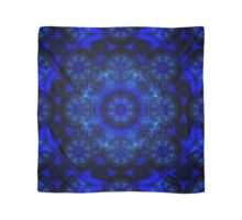 Mandala pillows- Blue Rosaries and dreams of a summer in Paris Scarf