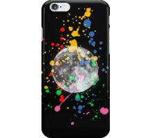 Moon Splatter iPhone Case/Skin