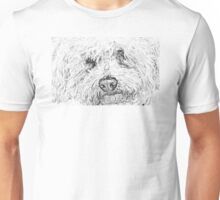 Shaggy Becky the Bichon Unisex T-Shirt