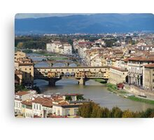 Firenze view  Canvas Print