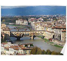 Firenze view  Poster