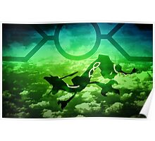 Meteo Rayquaza Poster