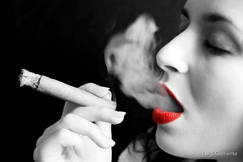 Smoking by Luigi Clemente
