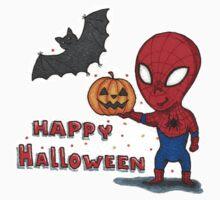 Spider-Halloween Kids Tee