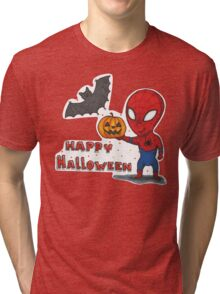 Spider-Halloween Tri-blend T-Shirt