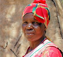 THE VENDA WOMAN, TRADITIONAL DRESS by Magaret Meintjes