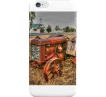 Attractive Tractor iPhone Case/Skin