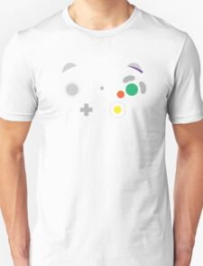 Gamecube Controller Buttons - Colour T-Shirt