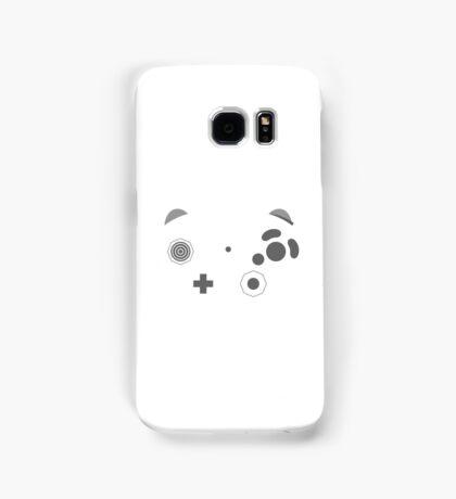 Gamecube Controller Buttons - Dark Samsung Galaxy Case/Skin