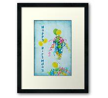Birthday Happiness Framed Print