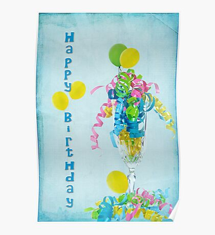 Birthday Happiness Poster