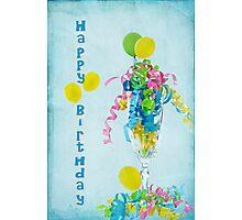 Birthday Happiness Photographic Print