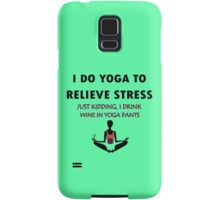 Funny yoga geek funny nerd Samsung Galaxy Case/Skin