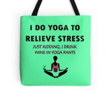Funny yoga geek funny nerd Tote Bag