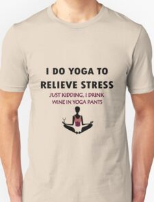 Funny yoga geek funny nerd Unisex T-Shirt